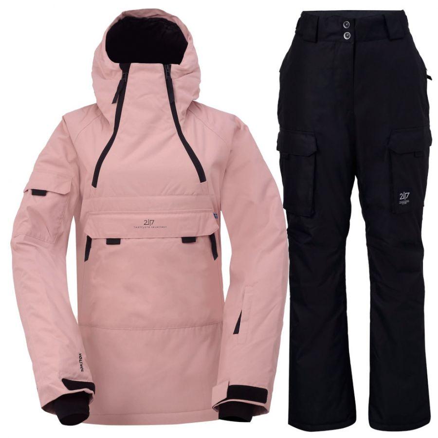 2117 of Sweden Liden, Skisett, Dame, Pink/Black