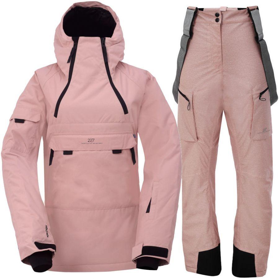 2117 of Sweden Liden/Lanna, Skisett, Dame, Pink