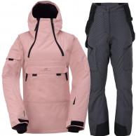 2117 of Sweden Liden/Lanna, skisæt, dame, pink/grå