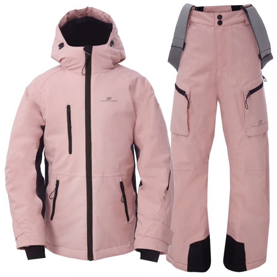 2117 of Sweden Knatten, Skisett, Junior, Pink