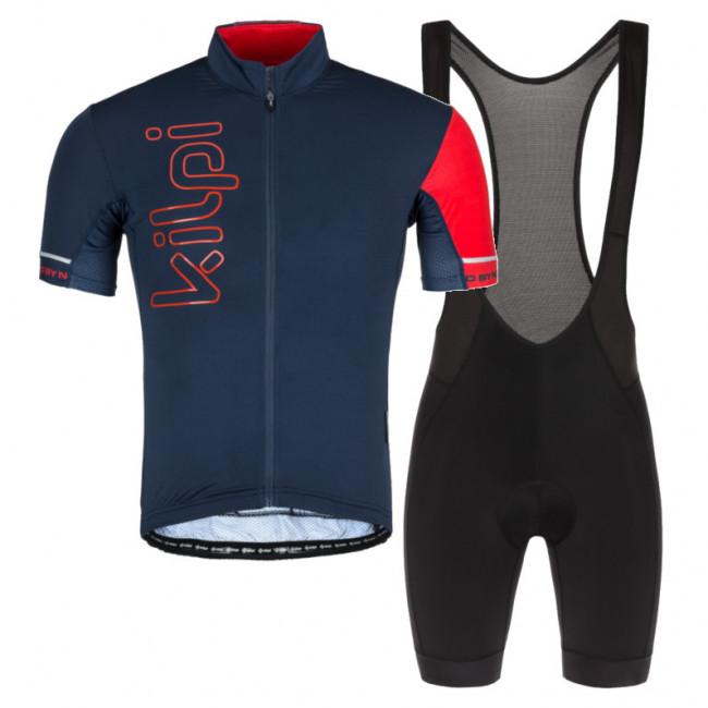 Kilpi Elyon/Rider, cykelsæt, herre, blå/sort