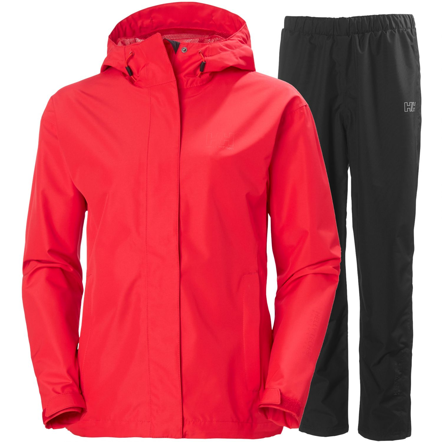 Helly Hansen Seven J, women, red/black