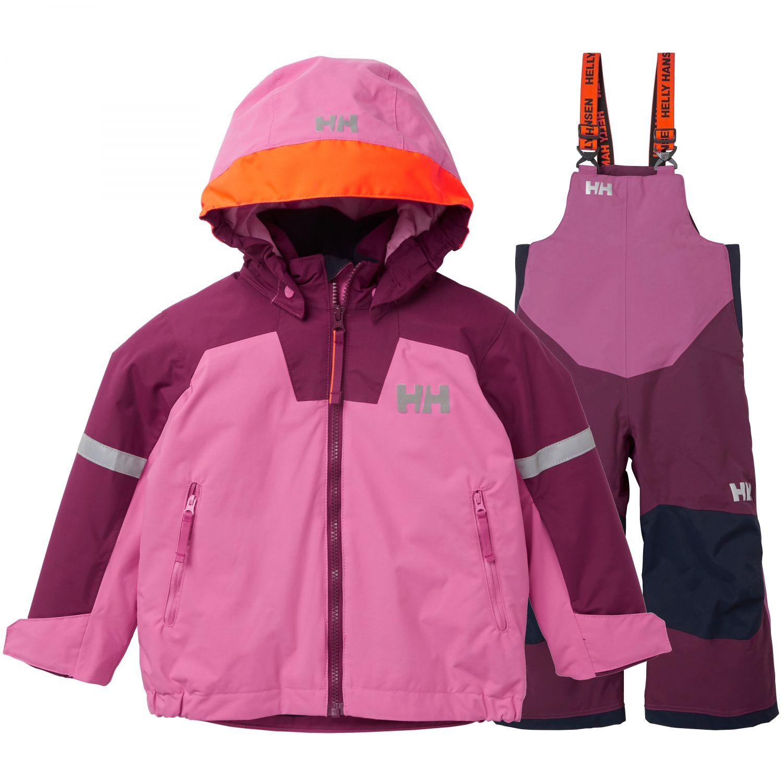 Helly Hansen Legend/Rider Bib skisæt, pink/lilla