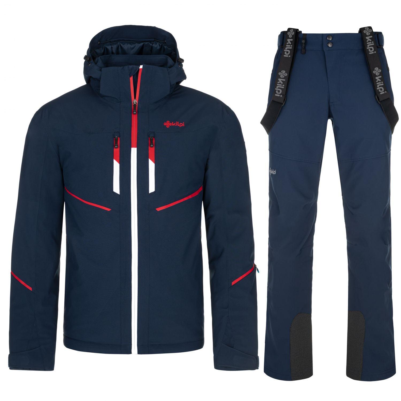 Kilpi Tonn/Rhea plus size, skisæt, herre, mørkeblå