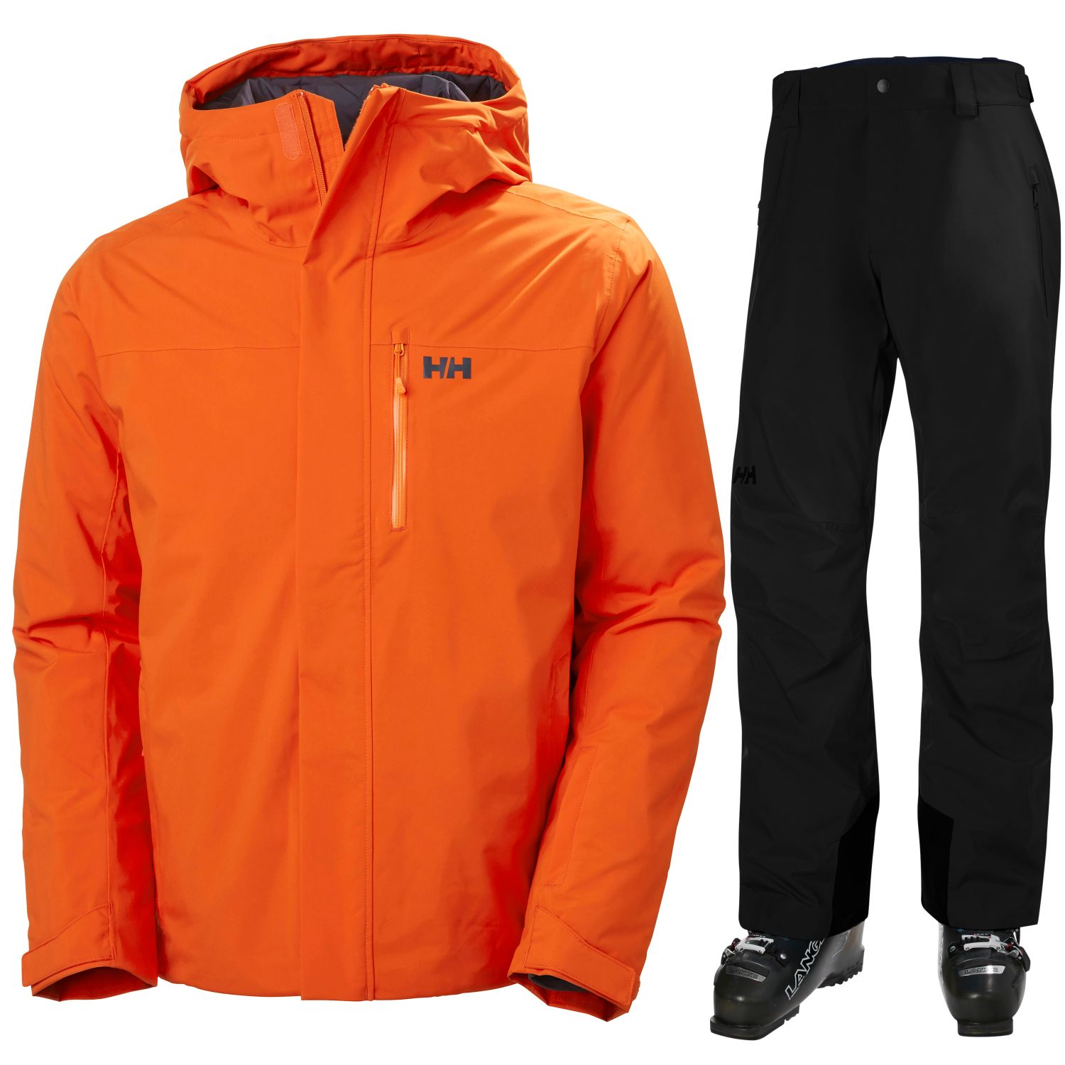 Helly Hansen Panorama/Legendary Insulated, herre, orange/sort
