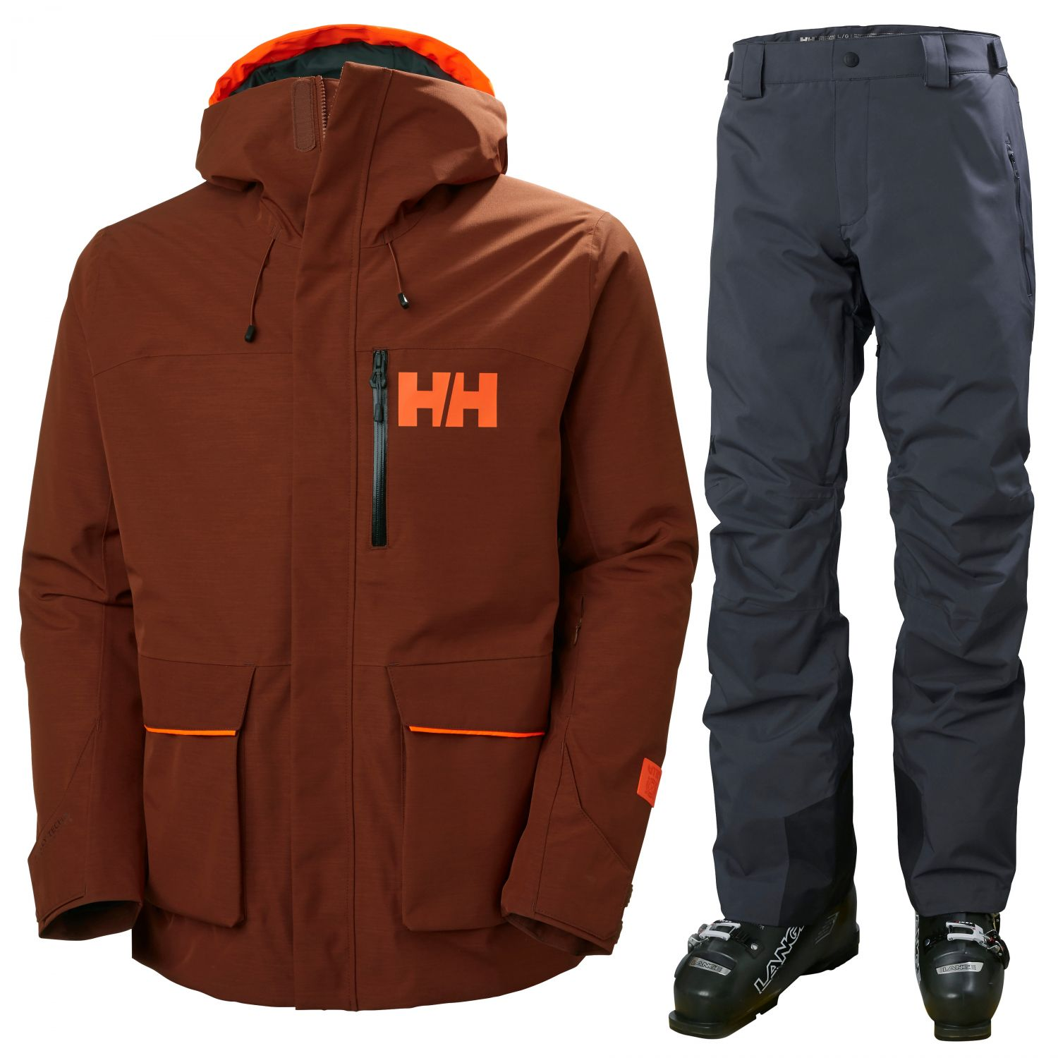 Helly Hansen Kickinghorse/Legendary, herre, rød/sort