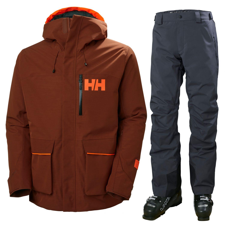 Helly Hansen Kickinghorse/Sogn Cargo, herre, rød/grå