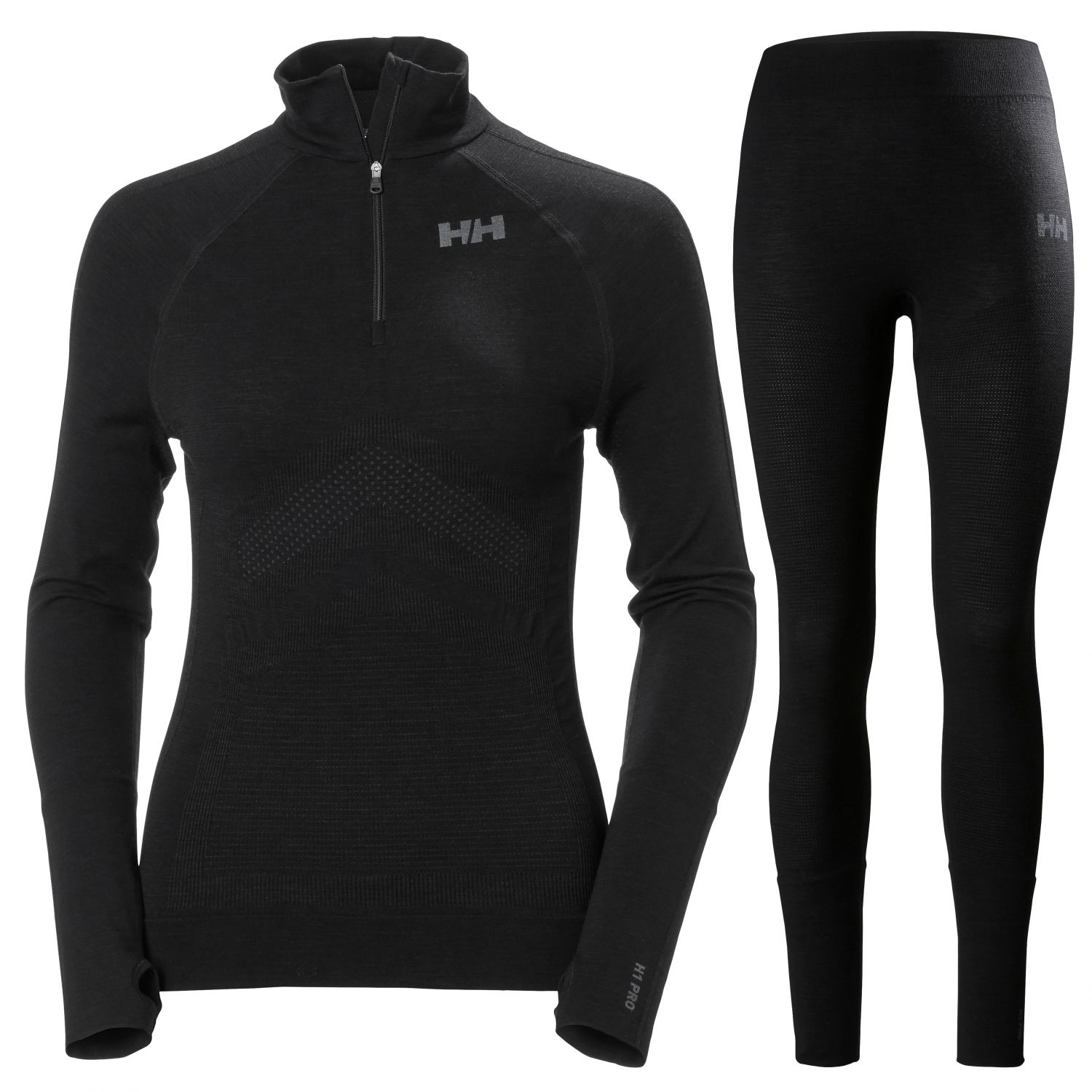 Helly Hansen H1 PRO Lifa H/Z, women, black
