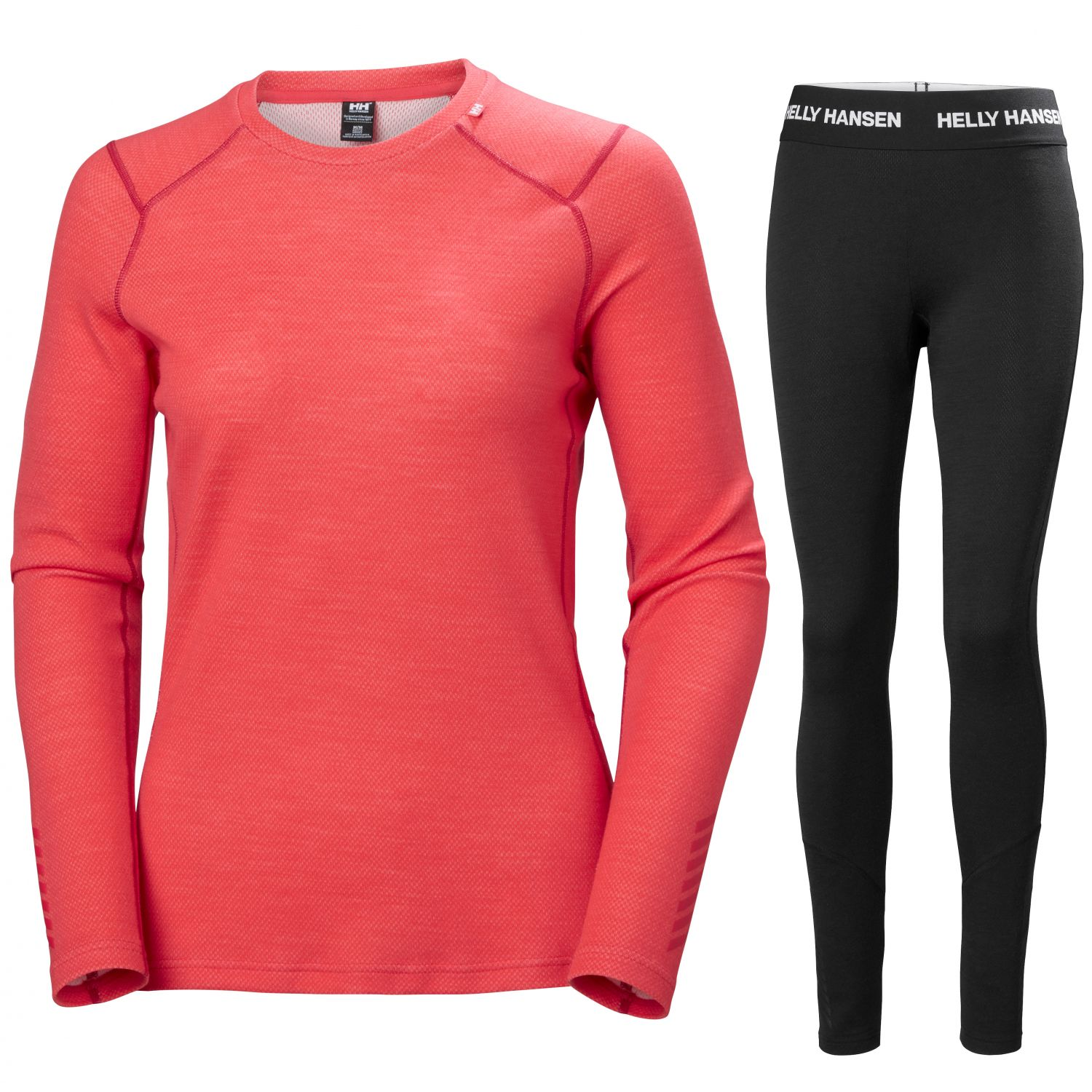 Helly Hansen Lifa Merino Midweight, women, red/black