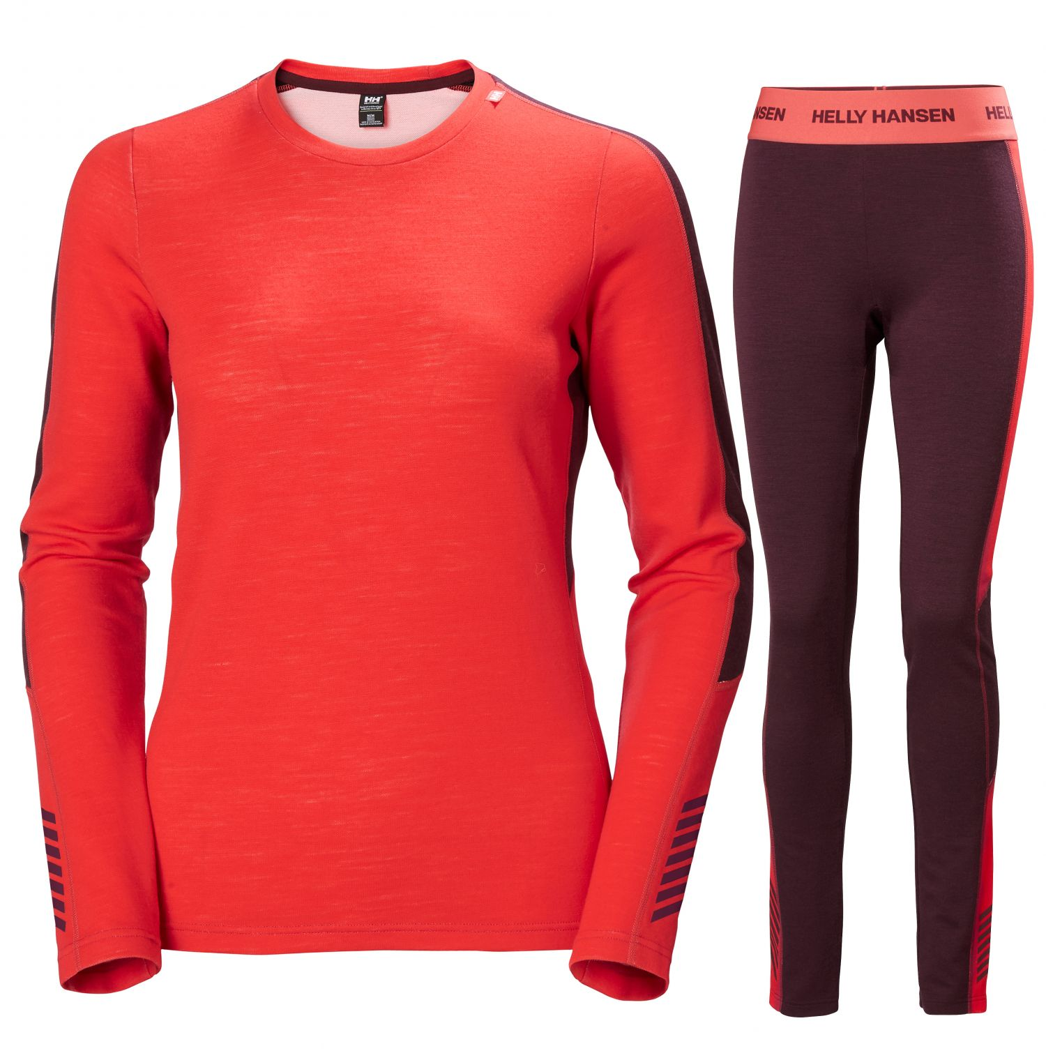 Helly Hansen Lifa Merino Lightweight, women, raspberry/wild rose