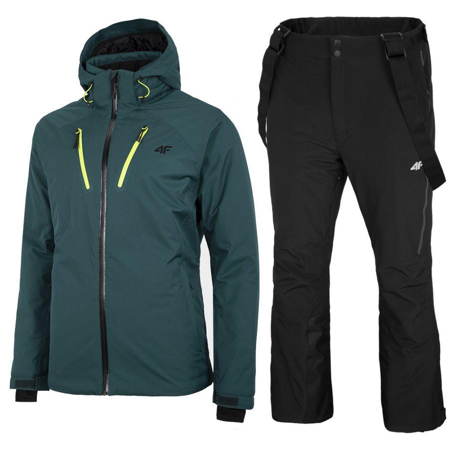 4F Milas/Albert skisæt, herre, grøn