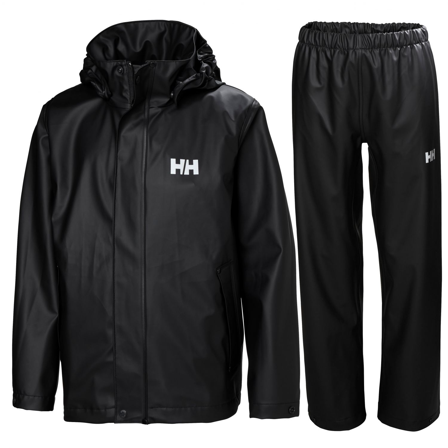 Helly Hansen Moss regnsæt, junior, sort