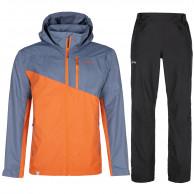 Kilpi Orleti/Alpin regntøj sæt, herre, orange/sort