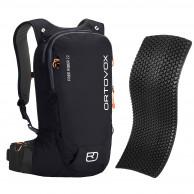 Ortovox Free Rider 22 + Spine Protector, black raven