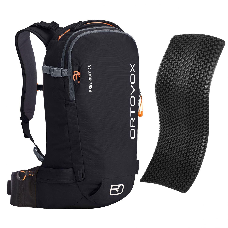 Ortovox Free Rider 28 + Spine Protector, black raven