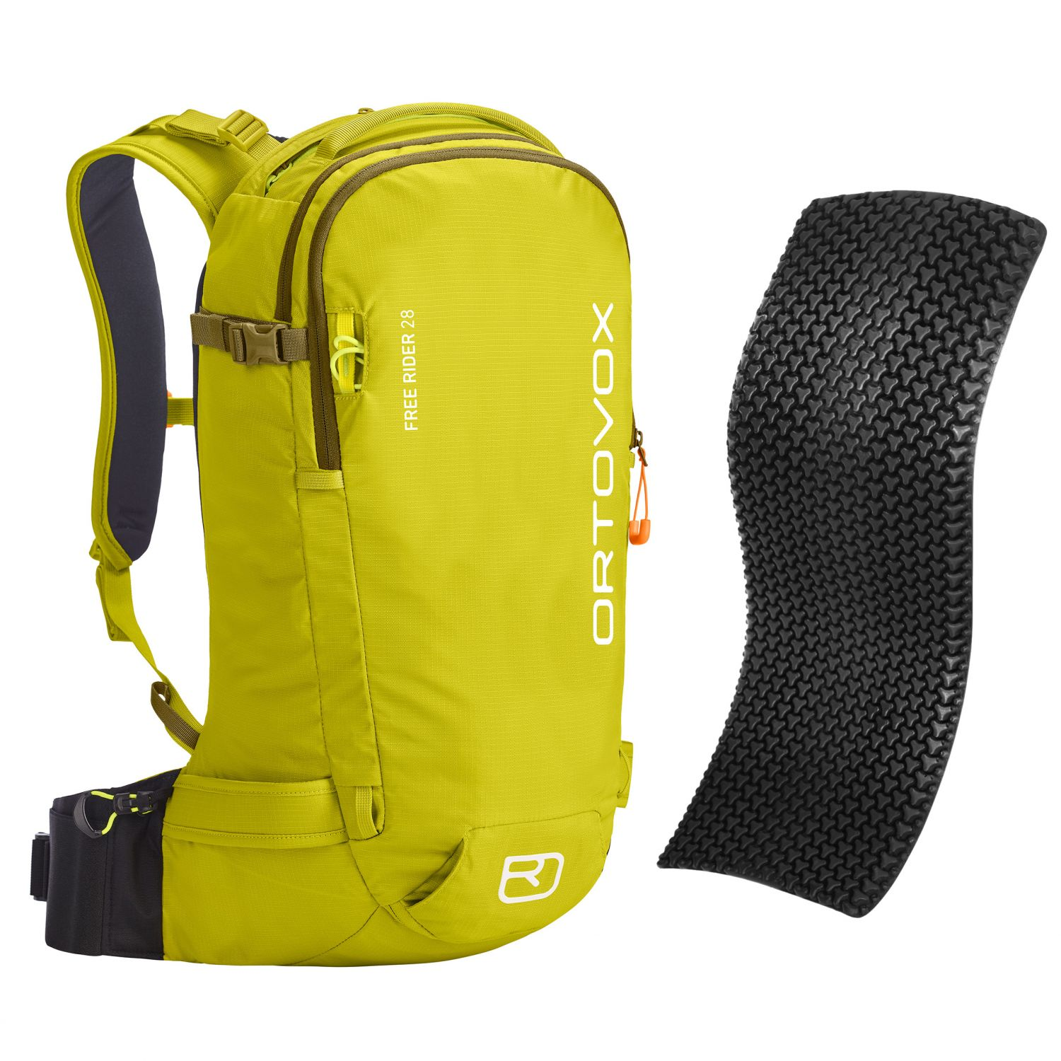 Ortovox Free Rider 28 + Spine Protector, dirty daisy