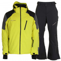 DIEL Méribel/Mallnitz skisæt, herre, gul/sort