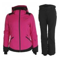 DIEL Zermatt/Livigno skisæt, dame, pink/sort