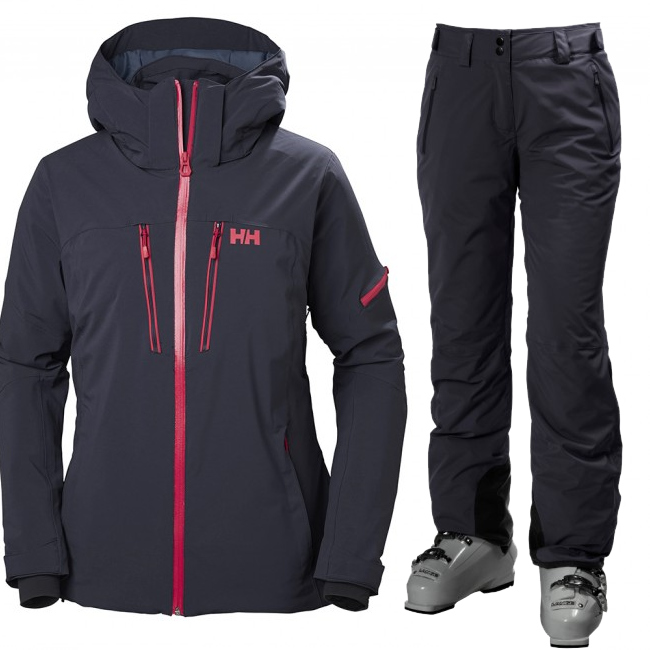 Helly Hansen W Motionista/Legendary skisæt, dame, blue