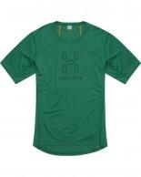 Haglöfs Intense Logo Tee, men, grøn