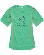 Haglöfs Intense Logo Tee Women, grøn
