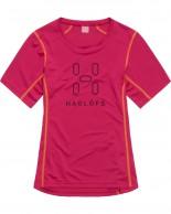 Haglöfs Intense Logo Tee Women, rød
