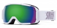 Smith Grom junior skibrille, hvid