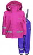 Weather Report Wau Minis regntøj sæt, pink