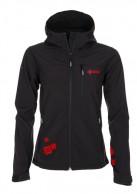 Kilpi Elia, softshell jakke, kvinder, sort/rød