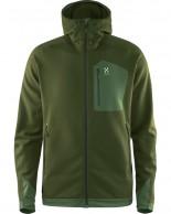 Haglöfs Bungy III Hood, fleecejakke, grøn