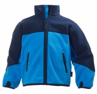 Helly Hansen K Fleece Jacket til  børn og junior, blå/mørk blå