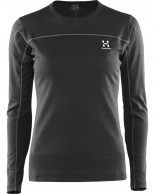 Haglöfs Actives Blend Roundneck Women, sort