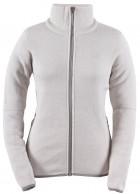 2117 of Sweden Idala fleece jakke, dame, hvid