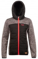 Protest Indras JR, junior fleece jakke, sort