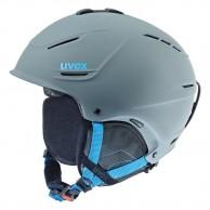 Uvex p1us skihjelm, grå/blå