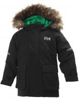Helly Hansen K Legacy Parka børne jakke, sort