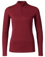 Kjus Ladies Feel Halfzip, baselayer, rød