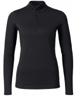 Kjus Ladies Feel Halfzip, baselayer, sort