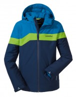 Schöffel Den Haag Junior drenge skijakke, blå
