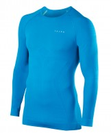 Falke Maximum Warm Longsleeved Shirt Tight Fit, herr, blå