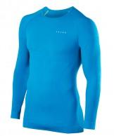 Falke Maximum Warm Longsleeved Shirt Tight Fit, herr, blå