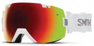 Smith I/OX skibrille, White/Red Sol-X Mirror