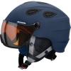 Alpina Grap Visor HM, skihjelm med Visir, Mat Blå