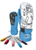 Level Pop-Art JR Mitt, luffer, blå