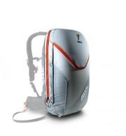 ABS Vario 18 Zip On, taske til lavinerygsæk, grå/orange