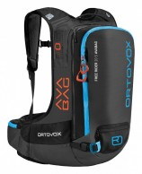 Ortovox Free Rider 20 S ABS, AVABAG, sort