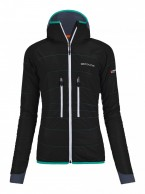 Ortovox Swisswool Light Tec Lavarella Jacket W, sort