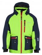 Kilpi Jackyl-JB drenge skijakke, grøn