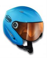 Osbe Start R, skihjelm med visir, light blue master