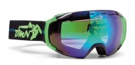 Demon Storm skibriller, sort/grøn
